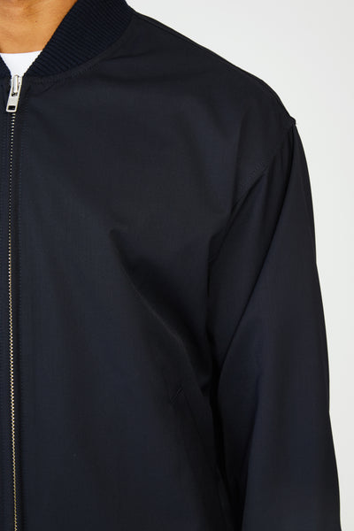 GIARE SAVE LIGHTWEIGHT WOOL JACKET - NAVY