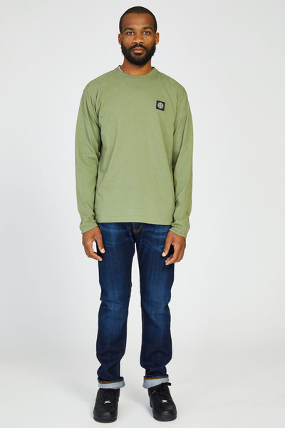 20541 JERSEY COTONE T-SHIRT - OLIVE
