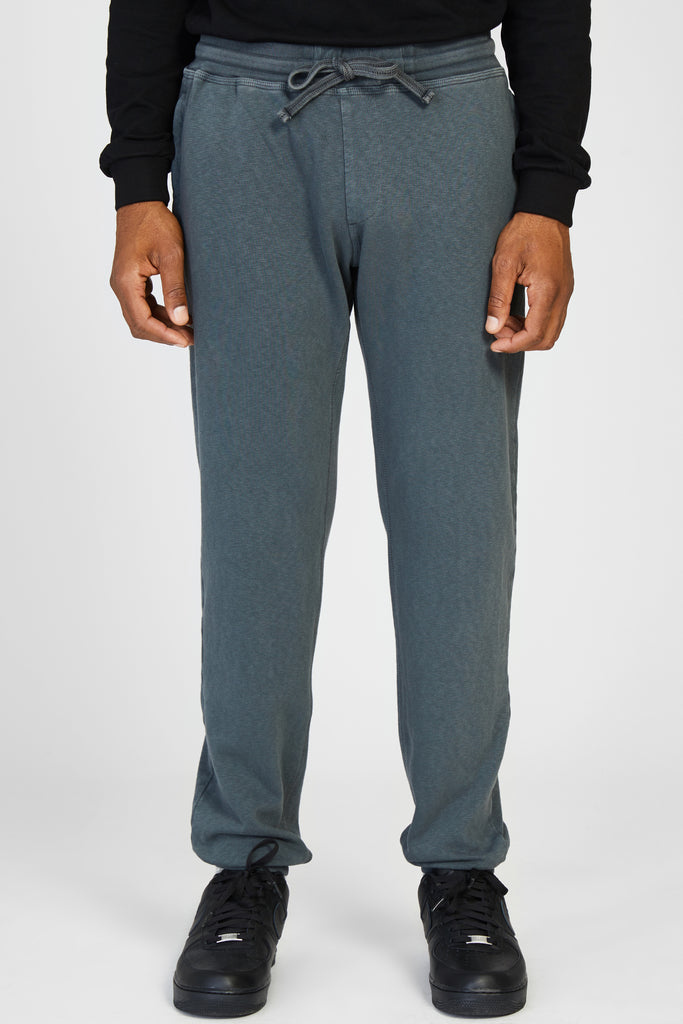 61261 FELPA MALFILE WASHED FLEECE PANTS - GREY
