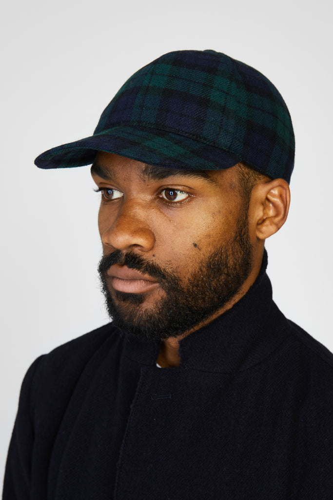 DEMIO FOLO PLAID CAP - BLACKWATCH