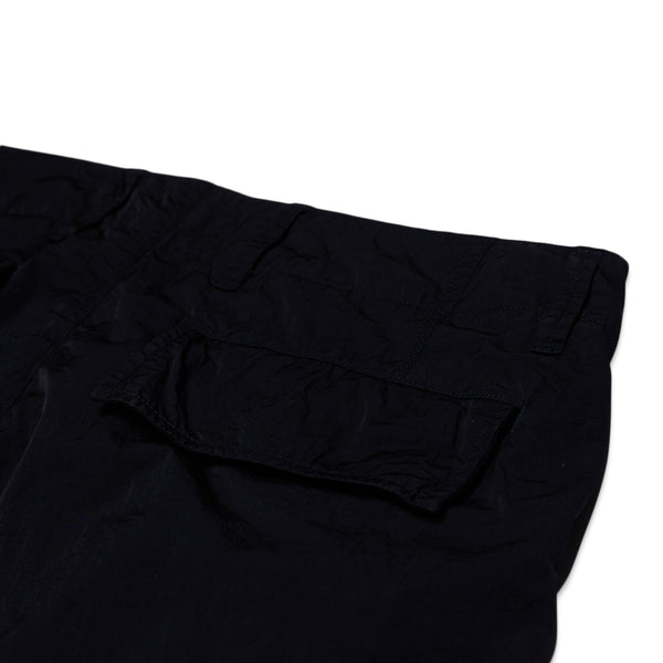 TROUSER TRAEGO JAPAN CRACKED NYLON - BLACK