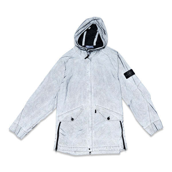 42599 PLATED REFLECTIVE-TC WITH DUST COLOR FINISH GARMENT DYED JACKET