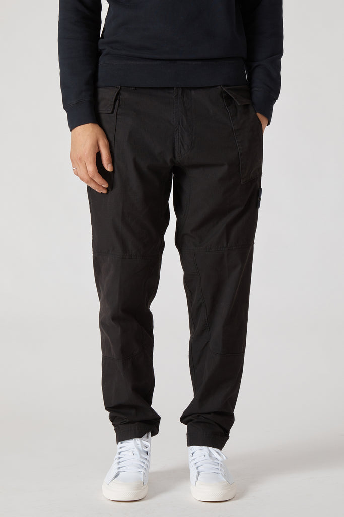 30606 RIPSTOP CARGO PANTS - BLACK
