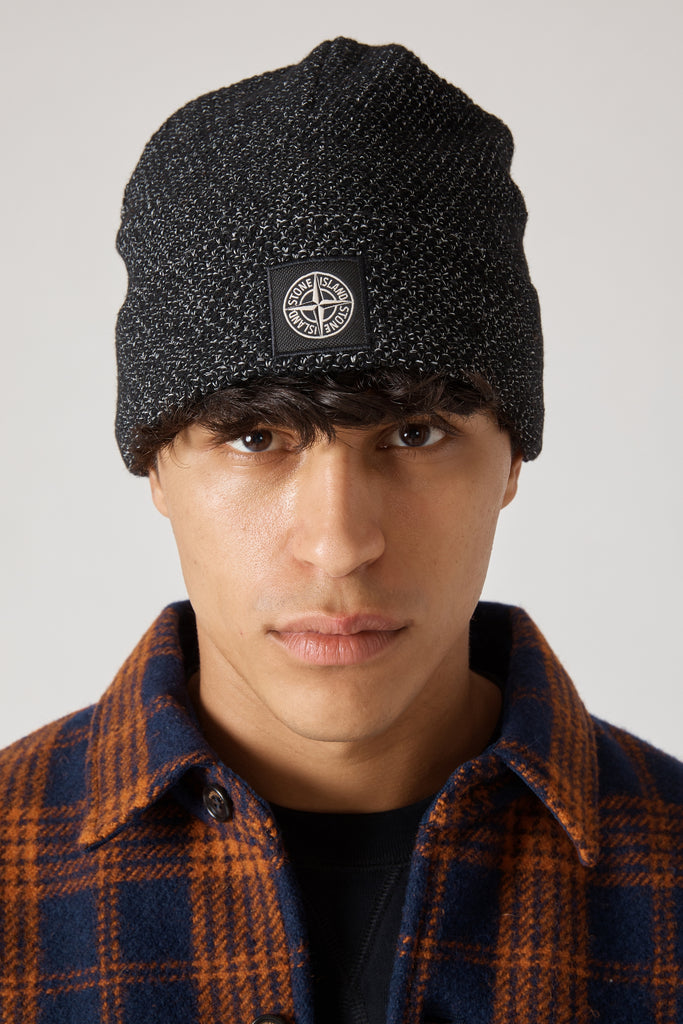 N16C6 REFLECTIVE KNIT CAP - BLACK