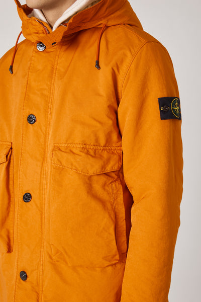 70449 DAVID-TC FISHTAIL PARKA DETACHABLE LINING - ORANGE