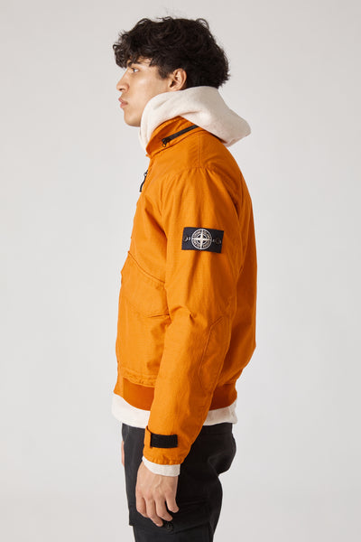 43699 REFLECTIVE WEAVE RIPSTOP PILOT JACKET - ORANGE