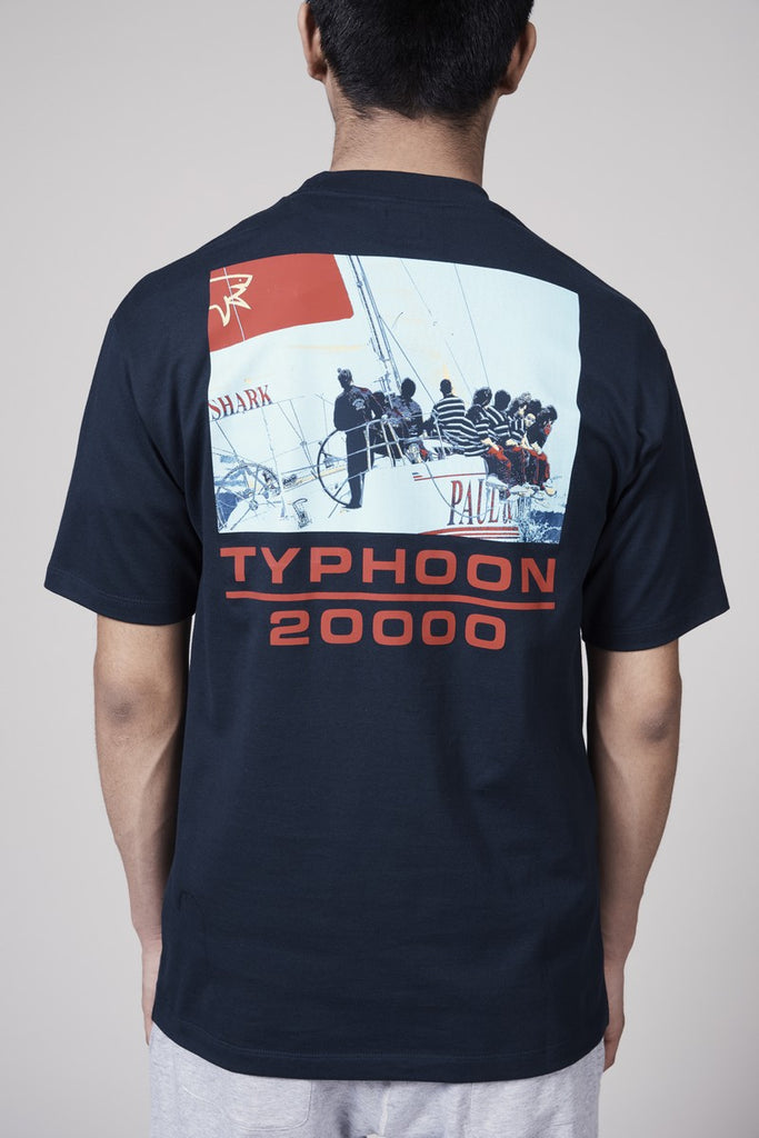 LQQK TYPHOON TEE - NAVY