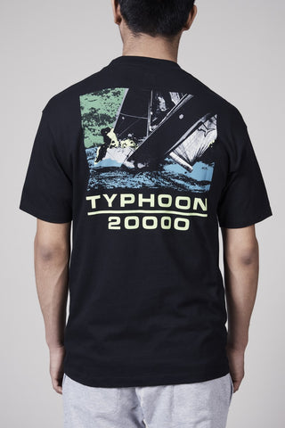LQQK TYPHOON TEE - BLACK