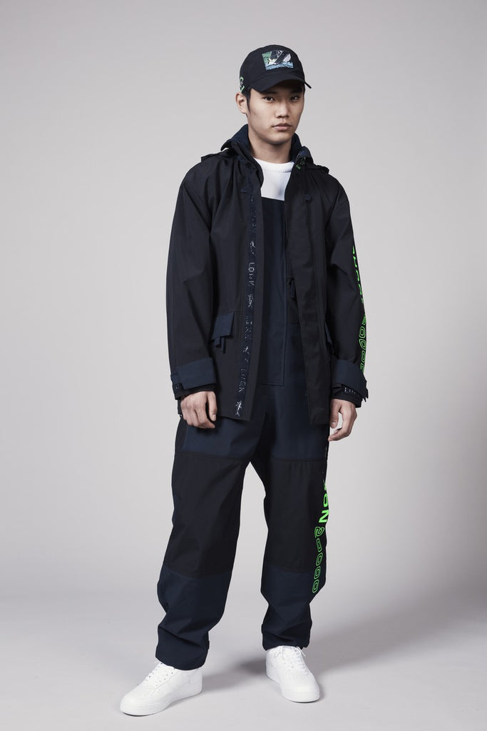 LQQK TYPHOON PARKA - BLACK/NAVY