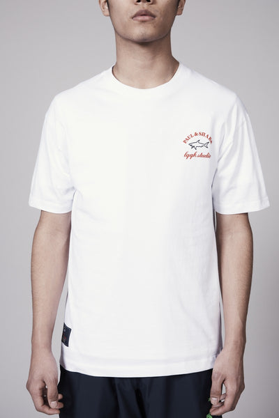 LQQK TYPHOON TEE - WHITE