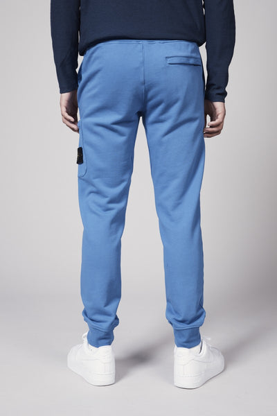 60351 COTTON FLEECE GARMENT DYED PANTS - PERIWINKLE