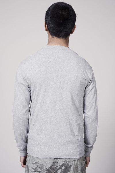22713 MERCERISED COTTON GARMENT DYED TSHIRT - DUST