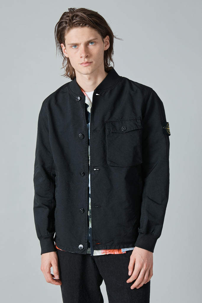 44649 DAVID-TC COACH JACKET -  BLACK
