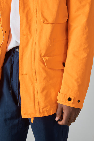 44548 DAVID FIELD JACKET - ARANCIO FLUO