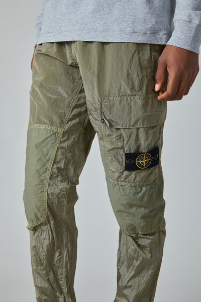 30617 NYLON METAL RIPSTOP PANTS - SAGE