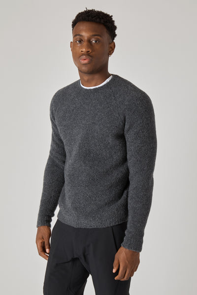 SWEATER GOLENA FURIO - ANTRACITE