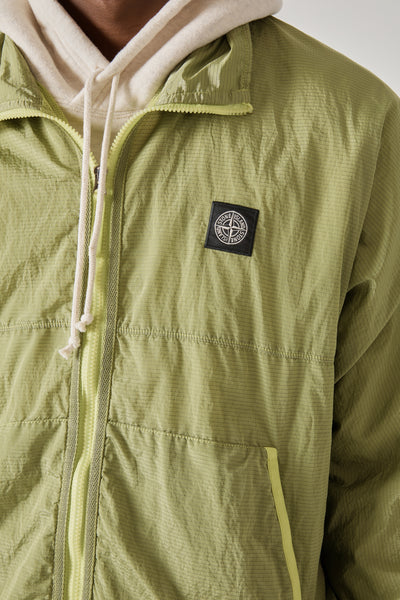 62536 NYLON METAL RIPSTOP-TC JACKET - PISTACHIO