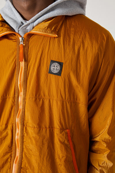 62536 NYLON METAL RIPSTOP-TC JACKET - ORANGE