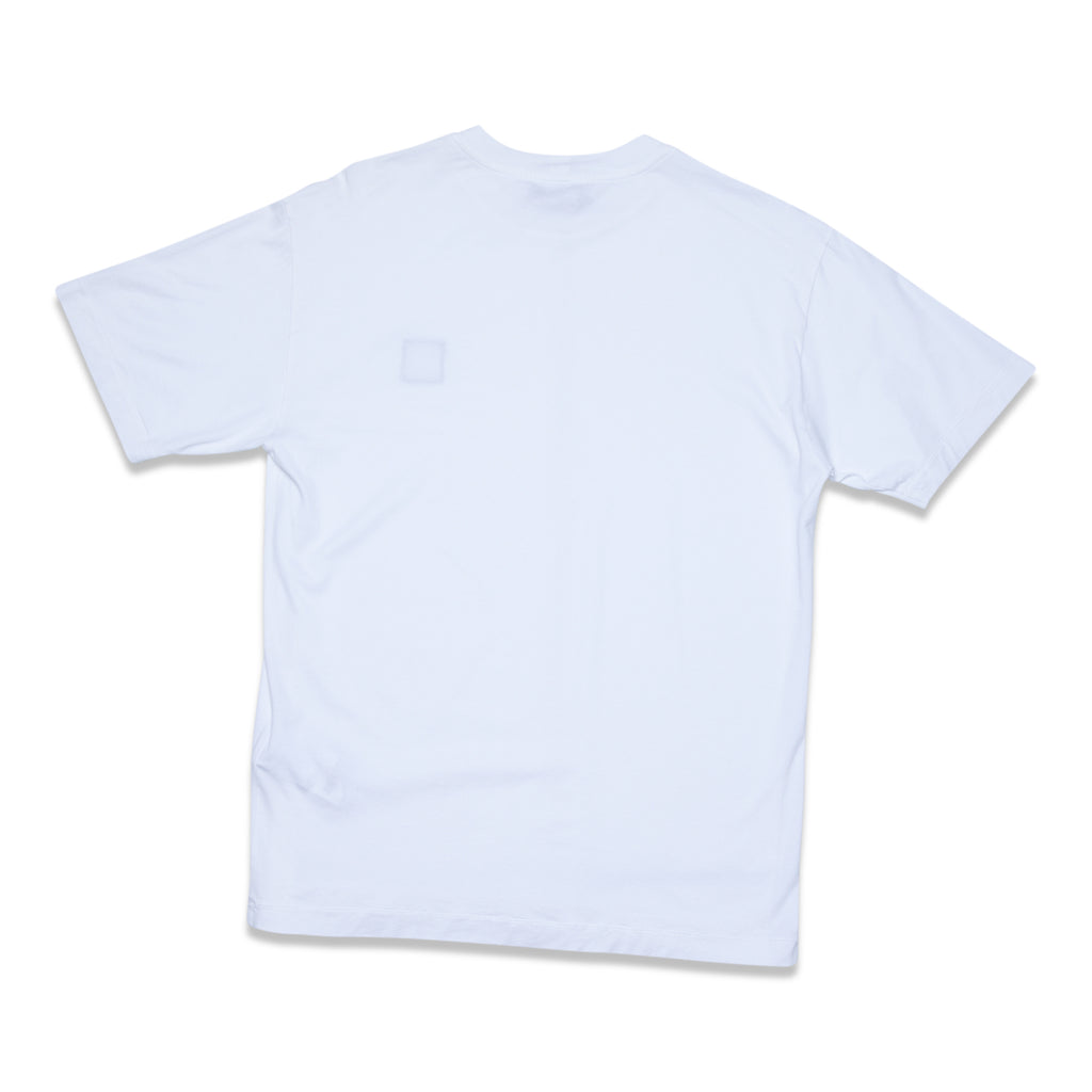 24113 60/2 COTTON JERSEY GARMENT DYE T-SHIRT - WHITE