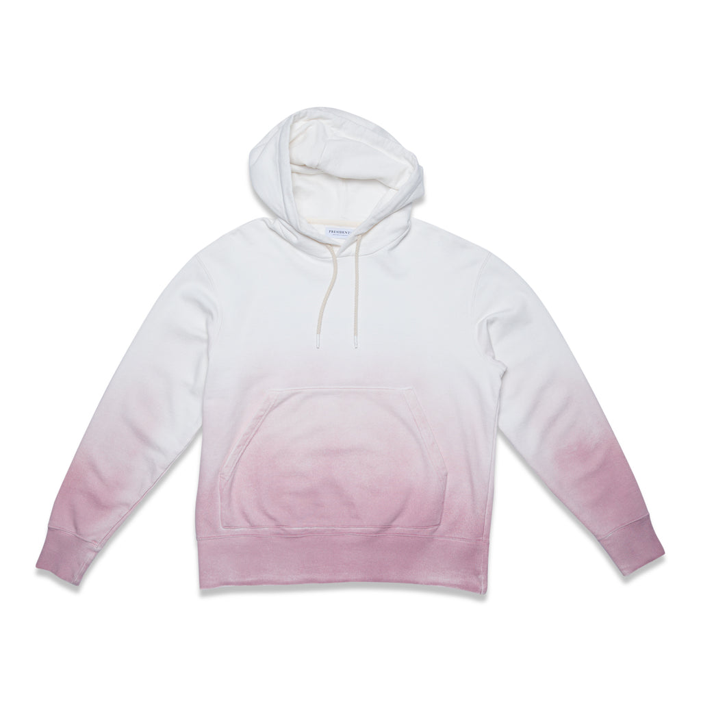 HOOD SWEATER P'S - ROSE SHADED