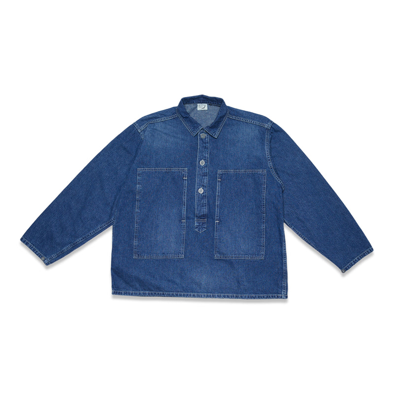 PW Pullover Shirt Jacket - Denim Used