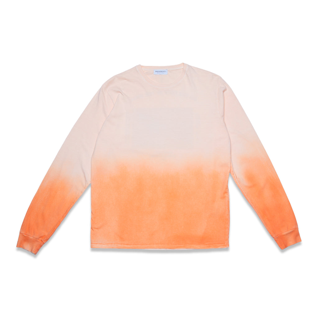 TSHIRT LONG SLEEVE - ORANGE SHADED