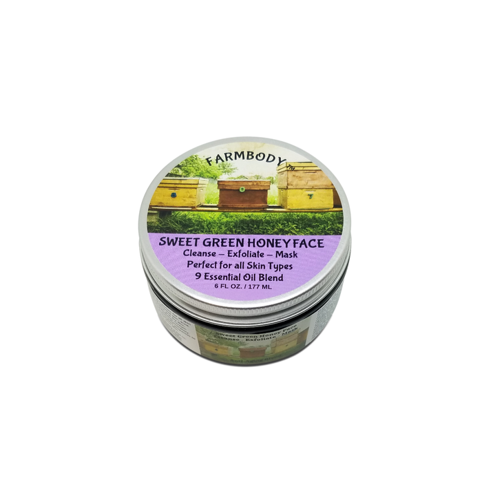 Sweet Green Honey Face - Farmbody