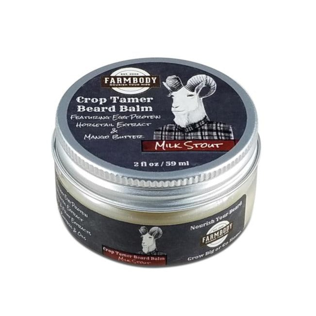 Crop Tamer Beard Balm With Egg Protein Farmbody Skin Care