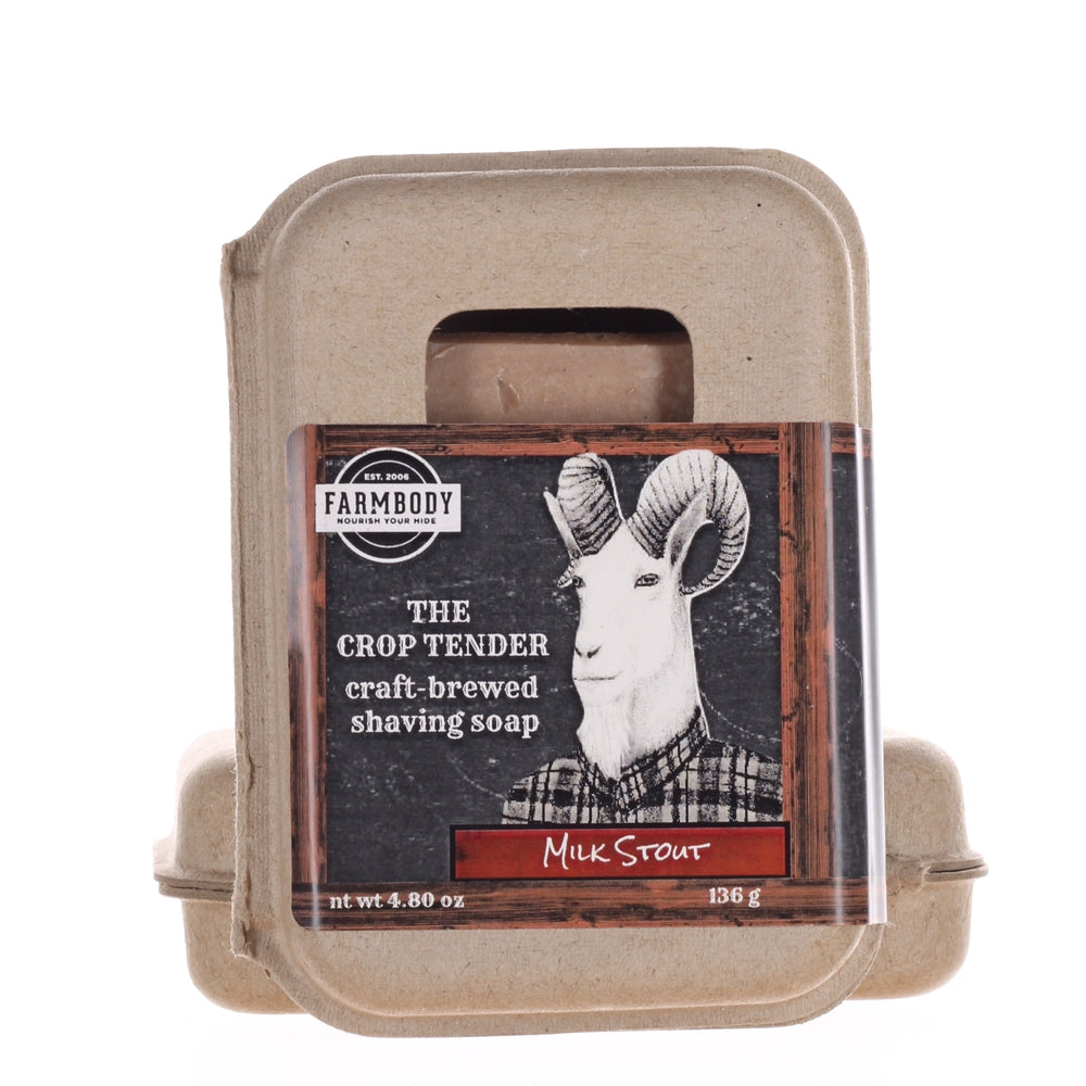 The Crop Tender, Craft Brewed Beer Shaving Soap - Farmbody