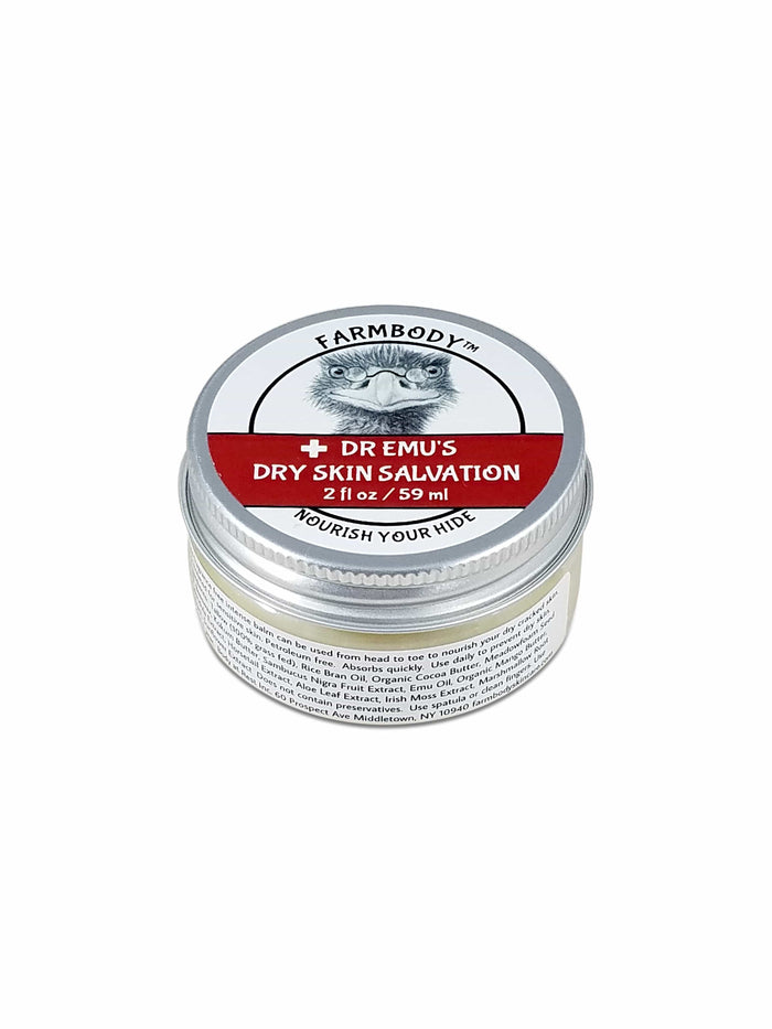 Emu Oil and Tallow Balm Dr Emu's Dry Skin Salvation Farmbody Skin Care