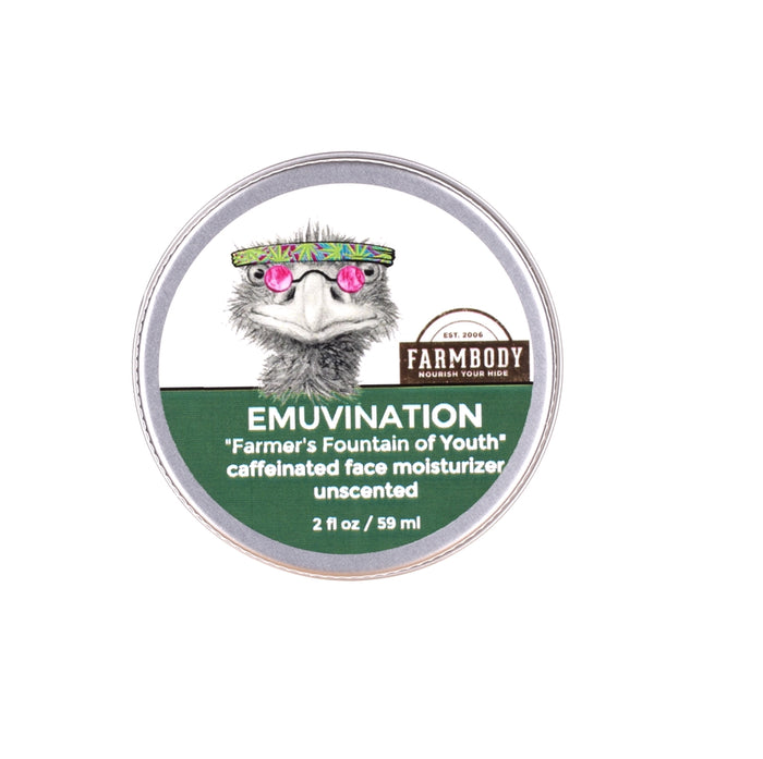 Emuvination Coffee Infused Caffeinated Day Cream - Farmbody