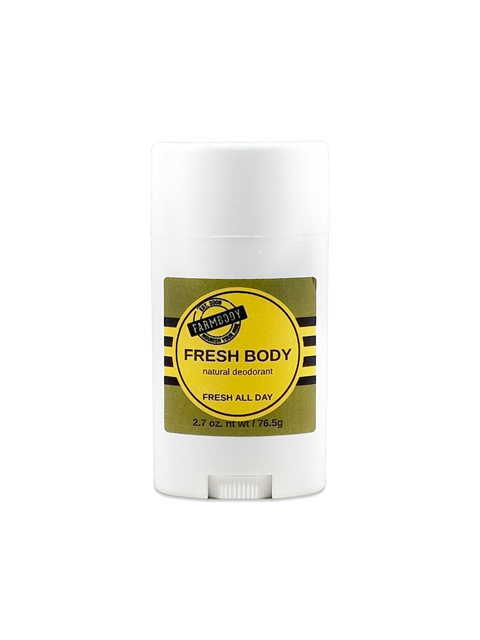 Natural Deodorant, Fresh Body - Farmbody