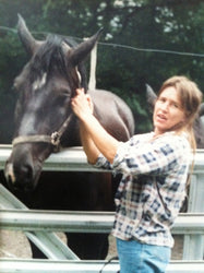 Lesley with horse