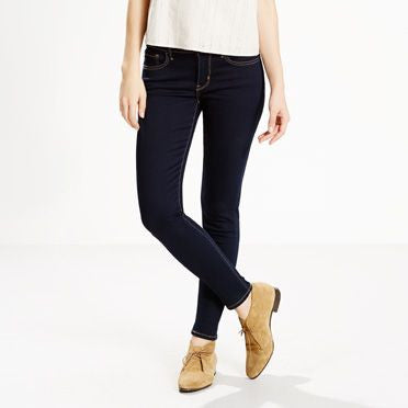 710 Dark Blue Super Skinny Jeans