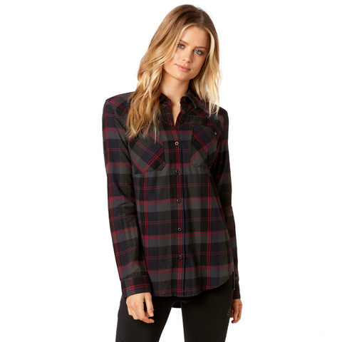 Fox Flown Flannel Long Sleeve