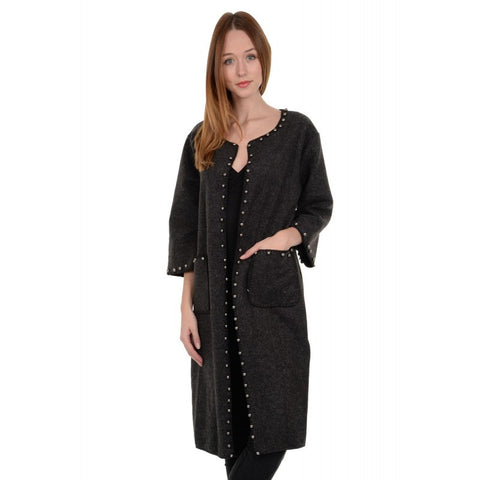 Star Ladies Knitted Coat