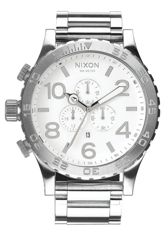 Nixon 51-30 Chrono / High Polish White