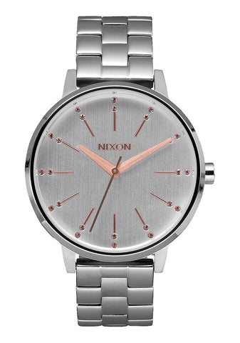 Nixon Kensington / Silver Light Gold Crystal