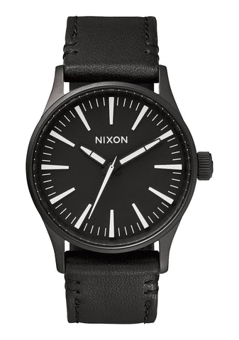 Nixon Sentry Leather / All Black