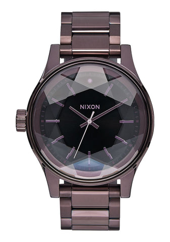 Nixon Facet / All Plum Black