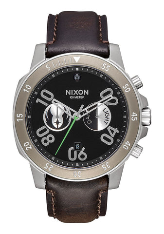 Nixon Ranger Chromo Leather SW / Jedi Black Brown