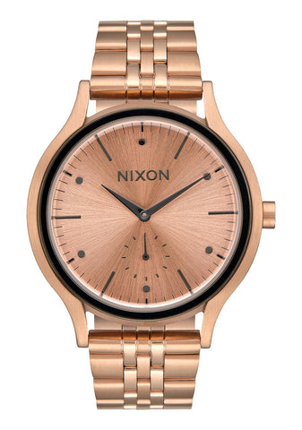 Nixon Sala / All Rose Gold Gunmetal