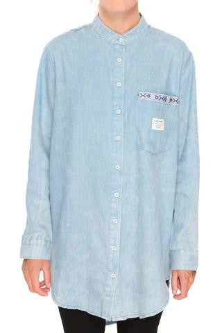 Mao Oversize Button Down