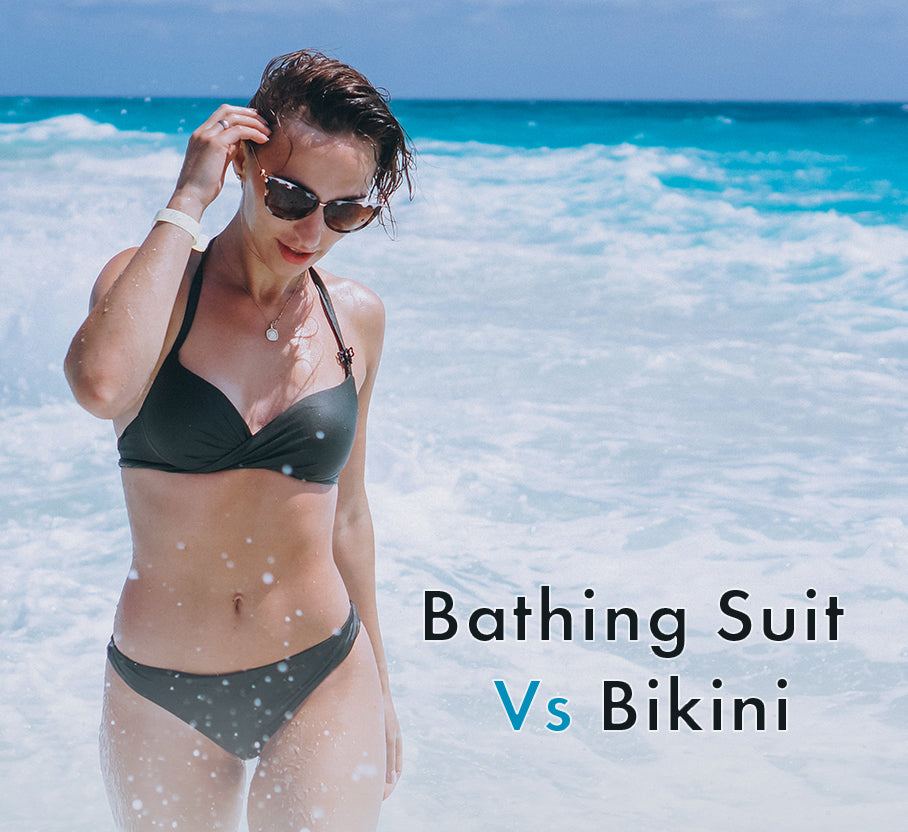 Difference Between a Bathing Suit and Bikini. Choosing the right one