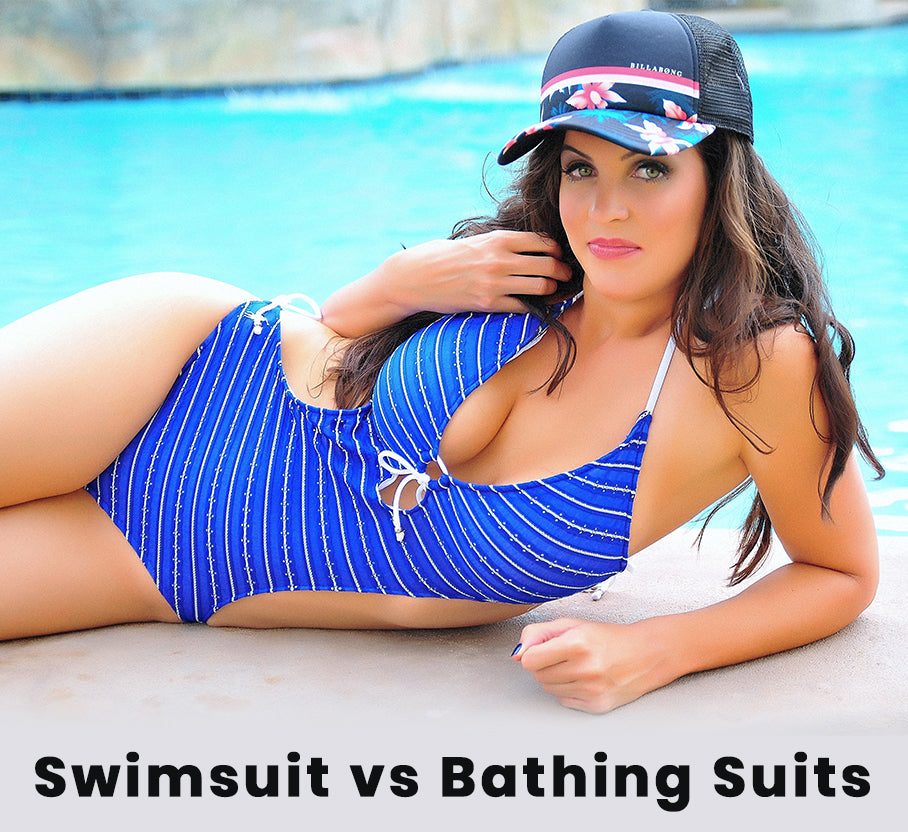 What is the difference between swimsuit and bathing suits? And other helpful information