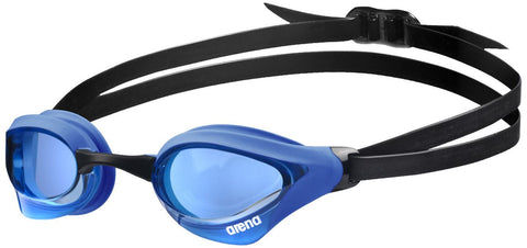 Arena Adult Racing Goggles Cobra Core Blue/Blue - Clickswim.com
