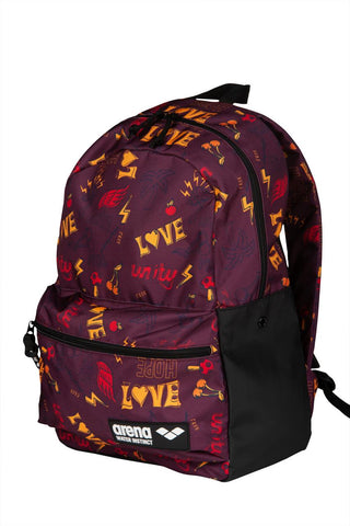 Arena Team  Backpack 3Allover Love - Clickswim.com