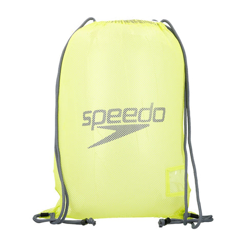 Speedo Mesh Bag Green/Grey 35L - Clickswim.com