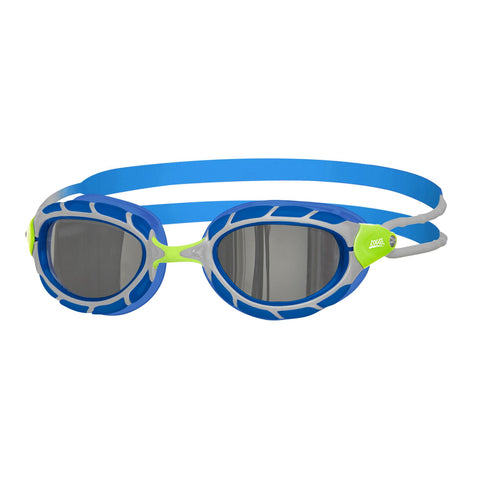 Predator Mirror Junior Junior Goggles Green/Blue/Mirror - Clickswim.com