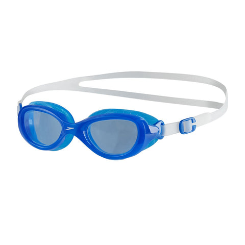 Speedo Junior Unisex Goggles Futura Classic Junior Clear/Blue - Clickswim.com